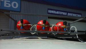 Установка метана на УАЗ
