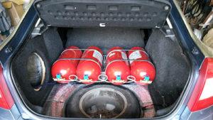 Skoda Octavia с двигателем TFSI на метане