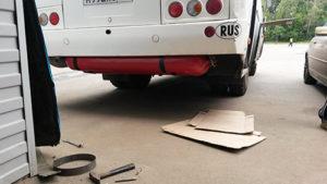 Автобус ПАЗ на бензине, пропане, метане