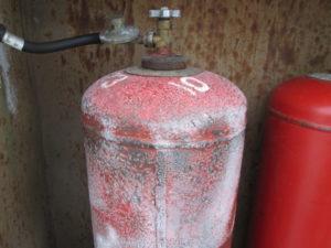 причины обмерзания газового баллона